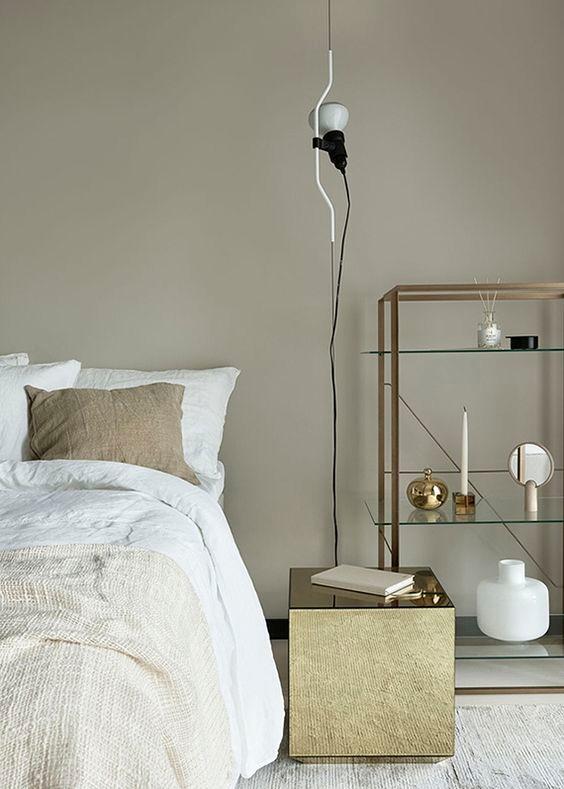 lampada Parentesi nella camera da letto